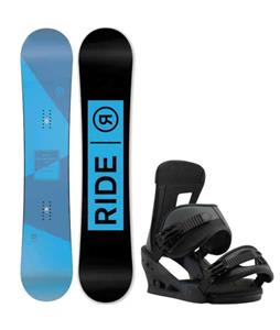 Ride Agenda Snowboard w/ Burton Freestyle Bindings