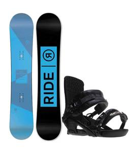 Ride Agenda Snowboard w/ Ride Rodeo Bindings