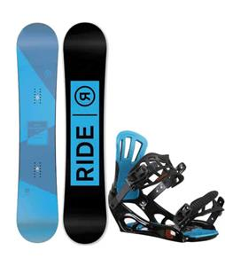 Ride Agenda Snowboard w/ Rossignol Battle V2 Bindings