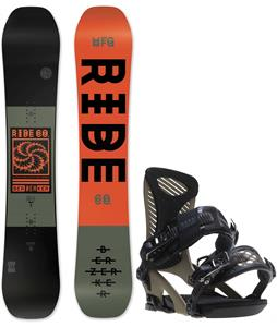 Ride Berzerker Snowboard w/ Ride Capo Bindings