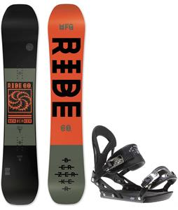 Ride Berzerker Snowboard w/ Ride EX Bindings