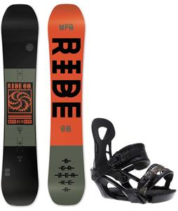 Ride Berzerker Snowboard w/ Ride LX Bindings