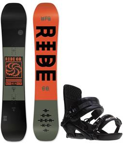 Ride Berzerker Snowboard w/ Ride Rodeo Bindings