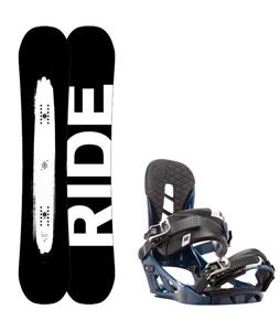 Ride Burnout Wide Snowboard w/ K2 Indy Bindings