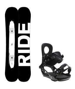 Ride Burnout Wide Snowboard w/ K2 Lien AT Bindings