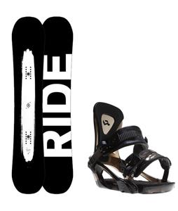 Ride Burnout Wide Snowboard w/ Ride KX Bindings