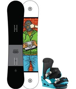 Ride Crook Snowboard w/ Burton Custom Bindings