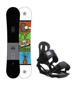 Ride Crook Snowboard w/ Head NX One Bindings