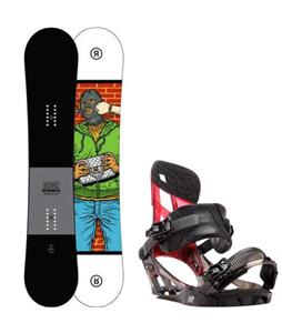 Ride Crook Snowboard w/ K2 Hurrithane Bindings