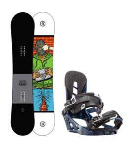 Ride Crook Snowboard w/ K2 Indy Bindings