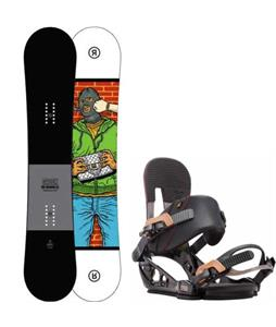 Ride Crook Snowboard w/ K2 Lien FS Bindings