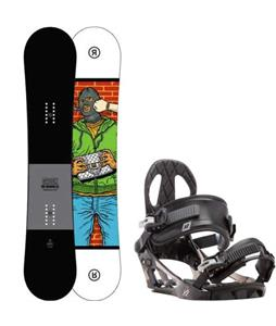 Ride Crook Snowboard w/ K2 Sonic Bindings