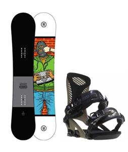Ride Crook Snowboard w/ Ride Capo Bindings