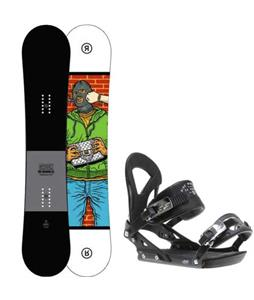 Ride Crook Snowboard w/ Ride EX Bindings