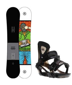 Ride Crook Snowboard w/ Ride KX Bindings