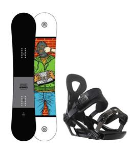 Ride Crook Snowboard w/ Ride LX Bindings