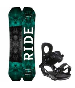 Ride Helix Snowboard w/ K2 Lien AT Bindings
