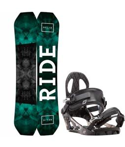 Ride Helix Snowboard w/ K2 Sonic Bindings