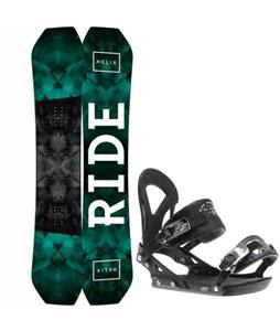 Ride Helix Snowboard w/ Ride EX Bindings