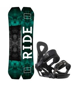 Ride Helix Snowboard w/ Ride LX Bindings
