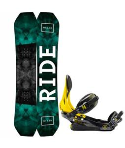 Ride Helix Snowboard w/ Rome Arsenal Bindings