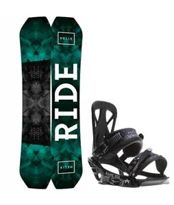 Ride Helix Snowboard w/ Rome United Bindings