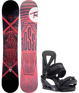 Rossignol Circuit Amptek Wide Snowboard w/ Burton Custom Re:Flex Bindings