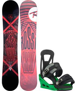 Rossignol Circuit Amptek Wide Snowboard w/ Burton Freestyle Re:Flex Bindings