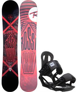 Rossignol Circuit Amptek Wide Snowboard w/ Head NX One Bindings