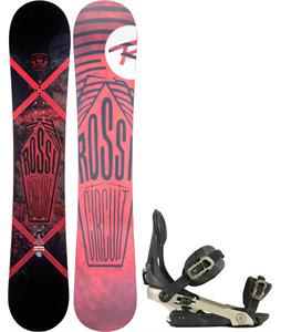 Rossignol Circuit Amptek Wide Snowboard w/ Rome Arsenal Bindings