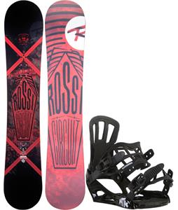 Rossignol Circuit Amptek Wide Snowboard w/ Rossignol Battle V1 Bindings