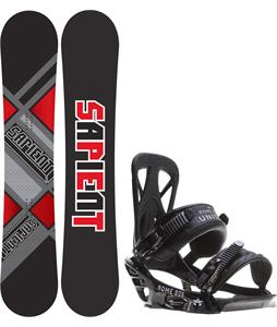 Sapient Future Wide Snowboard w/ Rome United Bindings