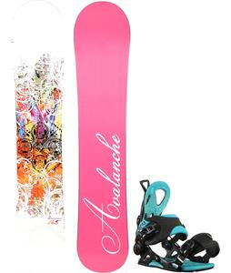 Avalanche Divane Snowboard w/ GNU B-Forward Bindings