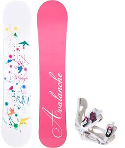 Avalanche Divane Snowboard w/ LTD LT250 Bindings