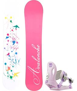 Avalanche Divane Snowboard w/ Morrow Slider Bindings