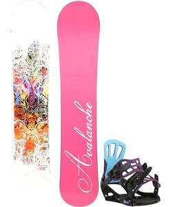 Avalanche Divane Snowboard w/ Rossignol Myth Bindings