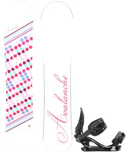 Avalanche Finesse Snowboard w/ K2 Charm Bindings