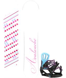 Avalanche Finesse Snowboard w/ Rossignol Myth Bindings