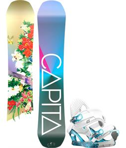 Capita Birds Of A Feather Snowboard w/ K2 Charm Bindings