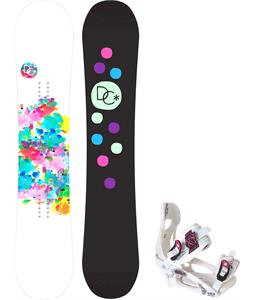 DC Biddy Camber Snowboard w/ LTD LT250 Bindings