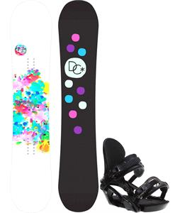 DC Biddy Camber Snowboard w/ Ride LXH Bindings