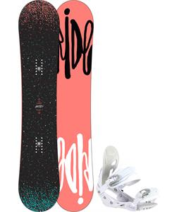 Ride Rapture Snowboard w/ Avalanche Serenity Bindings