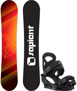 Sapient Zeus Jr Snowboard w/ Burton Mission Smalls Bindings