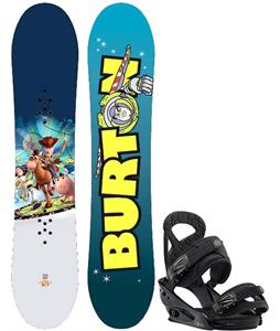 Burton Chopper Toy Story Snowboard w/ Burton Mission Smalls Bindings