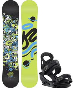K2 Mini Turbo Snowboard w/ Burton Mission Smalls Bindings