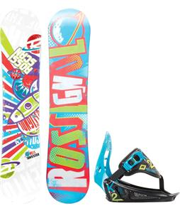 Rossignol Scan Amptek Snowboard w/ K2 Mini Turbo Bindings