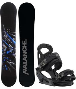 Avalanche Source Snowboard w/ Burton Mission Smalls Bindings