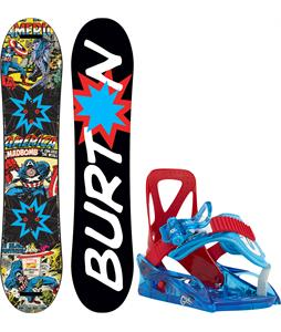 Burton Chopper LTD Marvel Snowboard w/ Burton Grom Bindings