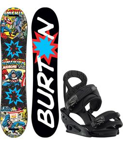 Burton Chopper LTD Marvel Snowboard w/ Burton Mission Smalls Bindings