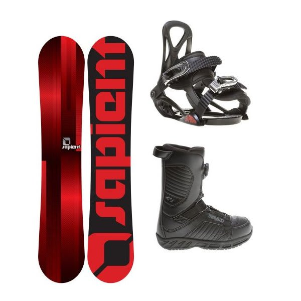 Sapient Fader Snowboard W / 32 Thirty Two Boa Snowboard Boots & Sapient Prodigy Snowboard Bindings U.S.A. & Canada